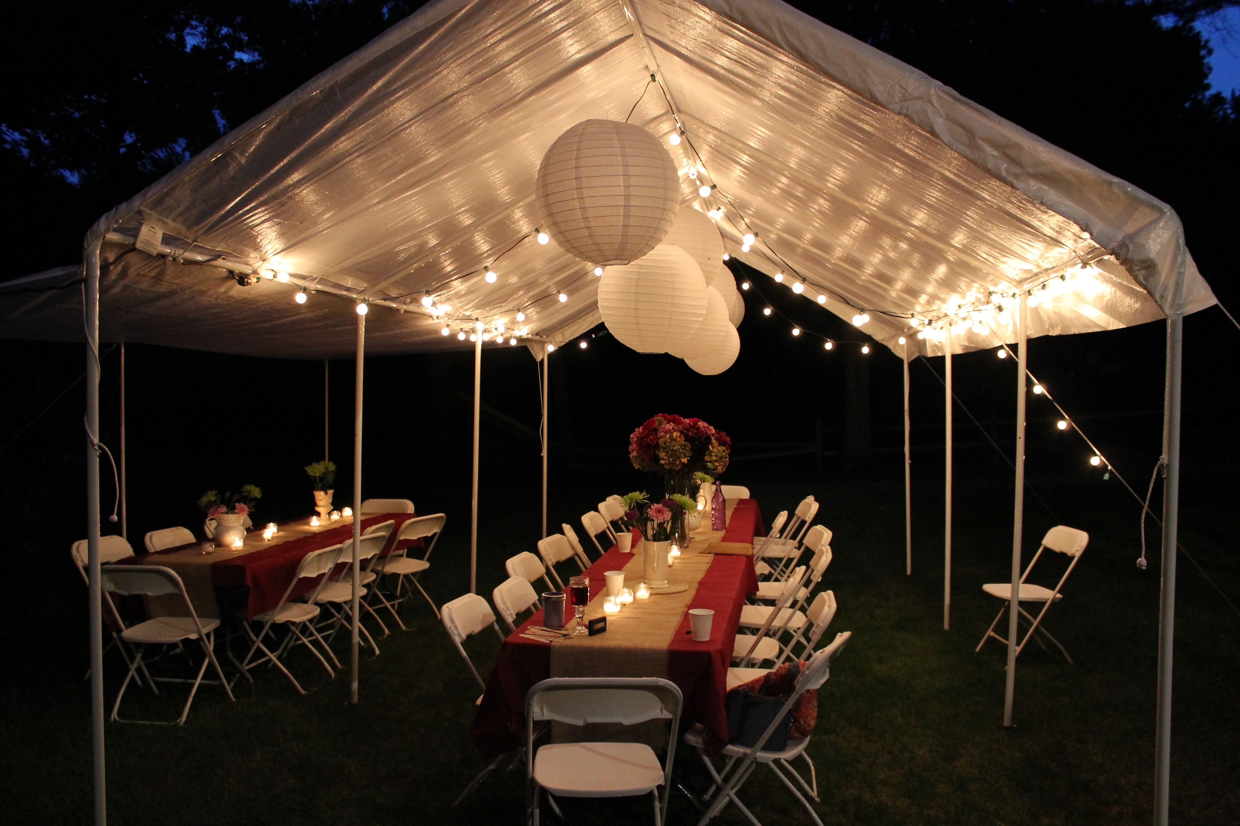 Decorating With Paper Lanterns | Construction2Style Pertaining To Outdoor Hanging Chinese Lanterns (#2 of 15)