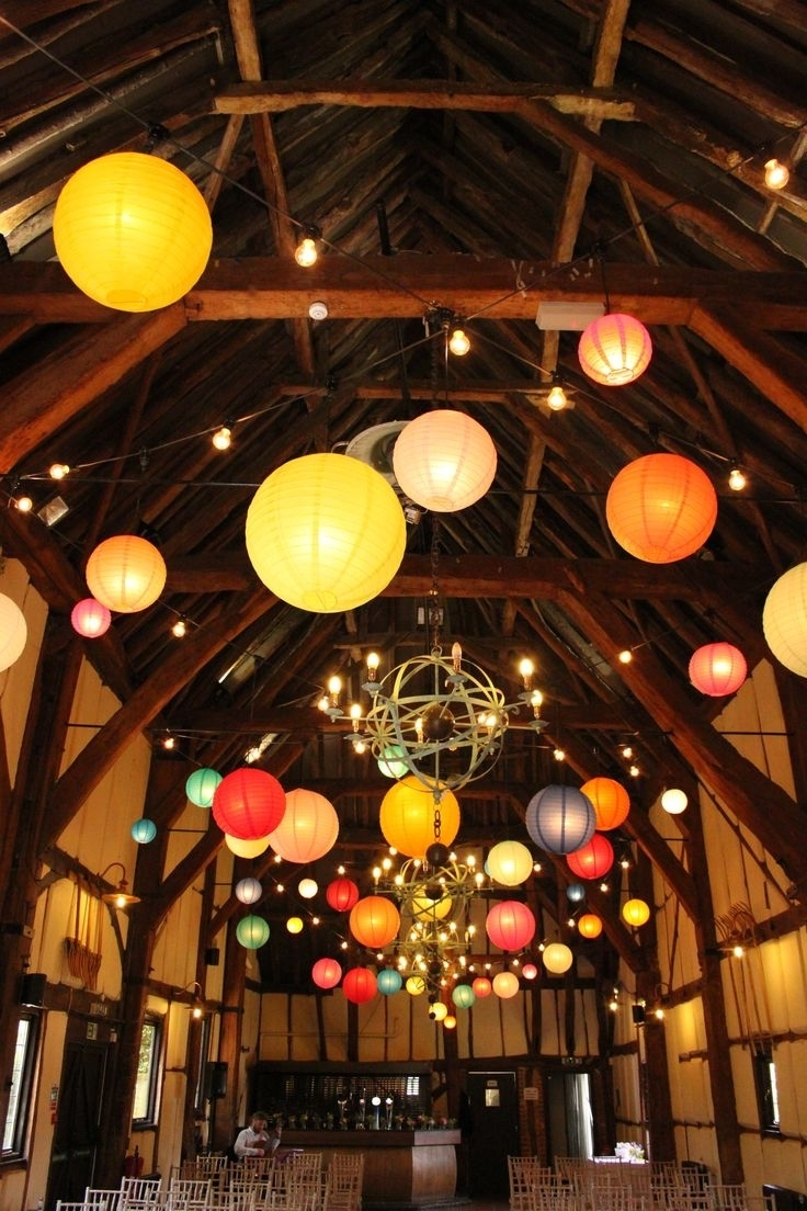 Inspiration about Decoration : Plain Paper Lanterns Japanese Hanging Lanterns Hanging For Outdoor Hanging Nylon Lanterns (#2 of 15)