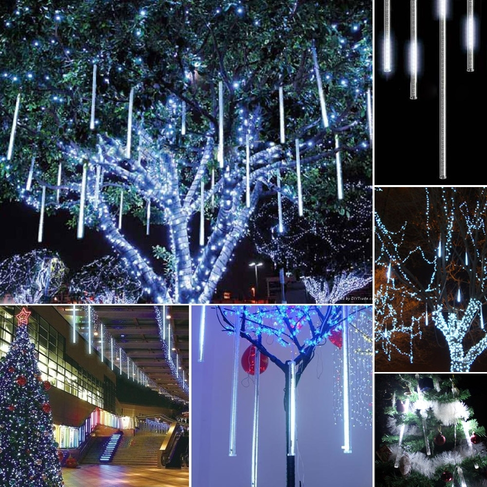 Inspiration about Decorations : Outdoor Christmas Lighting Tree Hanging Lantern Stick With Regard To Hanging Outdoor Lights On Wire (#6 of 15)