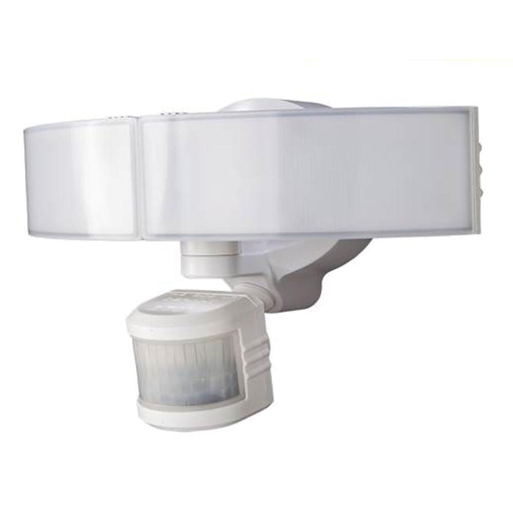 Defiant 270 Degree White Led Bluetooth Motion Outdoor Security Light For Hanging Outdoor Flood Lights (View 6 of 15)