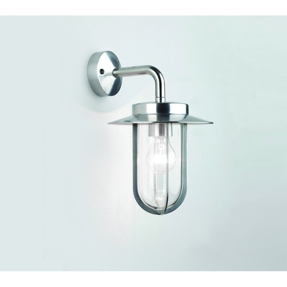 Inspiration about Delevan Brushed Nickel Outdoor Wall Light • Outdoor Lighting In Nickel Outdoor Wall Lighting (#15 of 15)