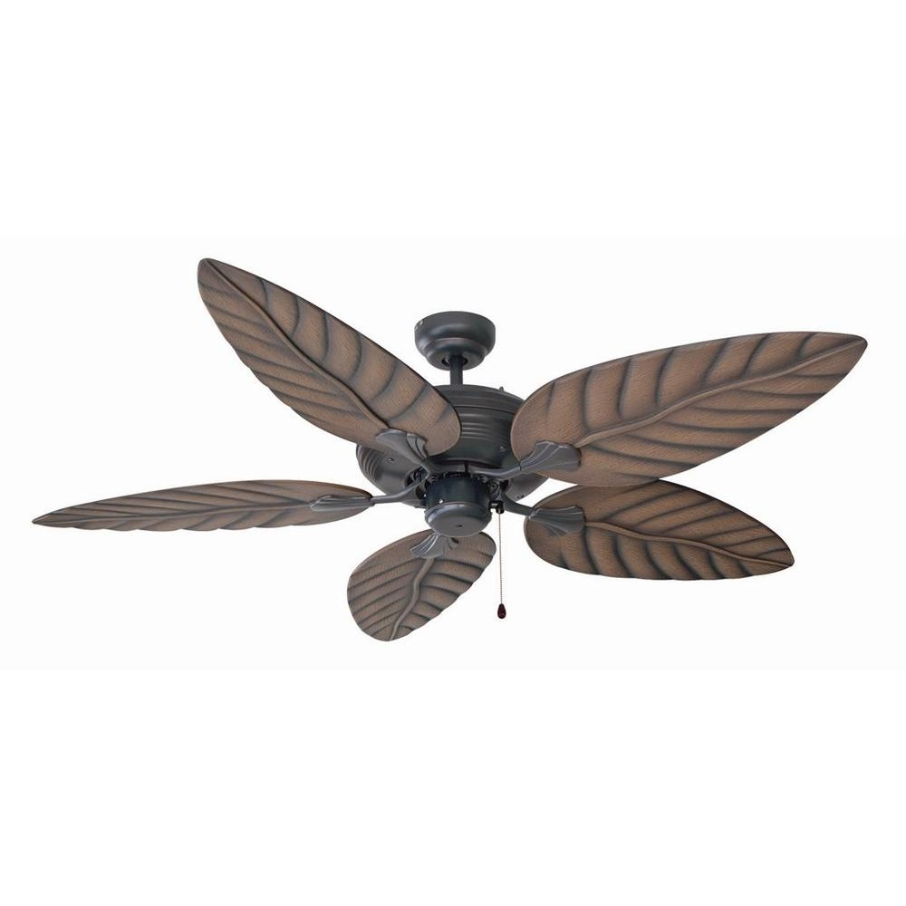Inspiration about Design House Martinique 52 In. Indoor/outdoor Oil Rubbed Bronze Inside Outdoor Ceiling Fans With Tropical Lights (#8 of 15)
