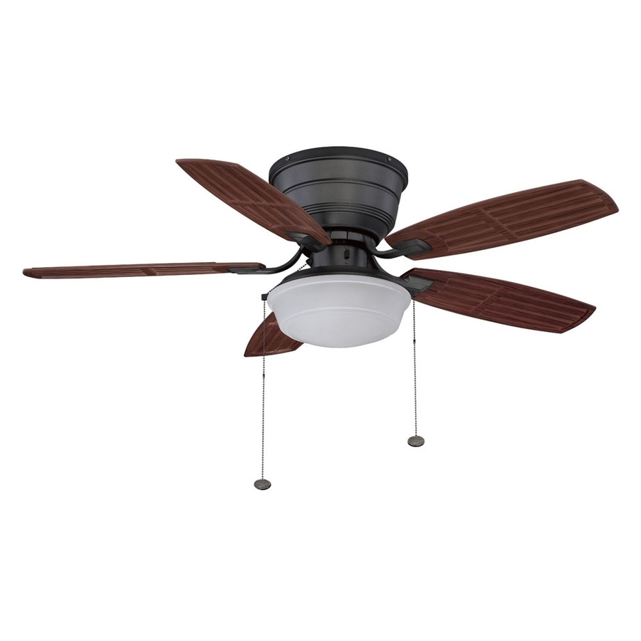 Inspiration about Design: Hunter Ceiling Fans Lowes To Keep Cool Any Space In Your With Regard To Outdoor Ceiling Fans Lights At Lowes (#13 of 15)