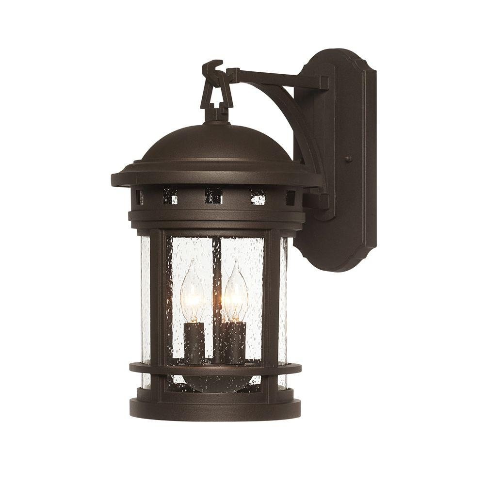 Inspiration about Designers Fountain Mesa Collection 3 Light Oil Rubbed Bronze Outdoor For Oil Rubbed Bronze Outdoor Wall Lights (#10 of 15)