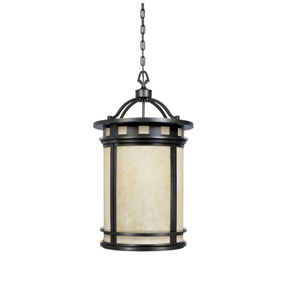 Designers Fountain Mesa Collection 3 Light Oil Rubbed Bronze Outdoor With Oil Rubbed Bronze Outdoor Hanging Lights (#2 of 15)