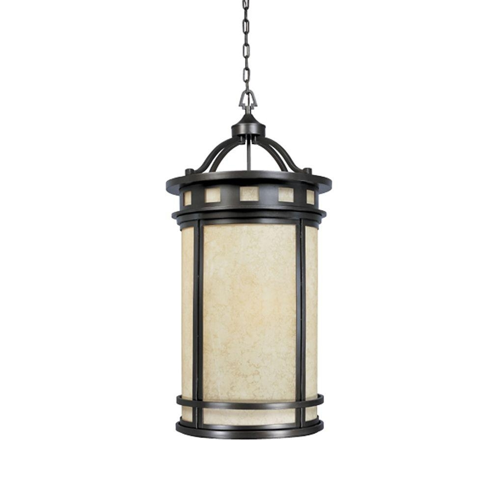 Designers Fountain Mesa Collection 4 Light Oil Rubbed Bronze Outdoor Intended For Outdoor Hanging Oil Lanterns (#2 of 15)