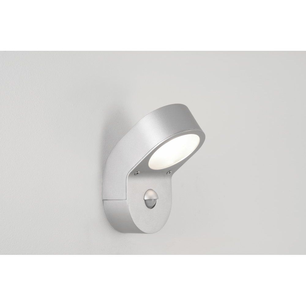 Inspiration about Discontinued Astro 0576 Soprano Pir Sensor Outdoor Wall Light Silver With Outdoor Wall Lighting With Sensor (#15 of 15)
