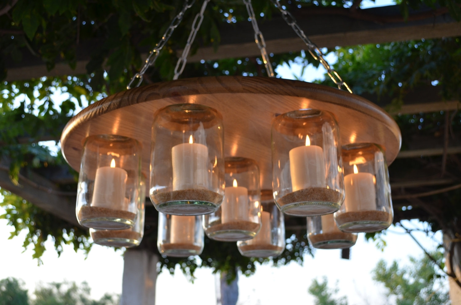 Inspiration about Diy : Diy Mason Jar Light Lantern Maxresdefault Outdoor Hanging Regarding Homemade Outdoor Hanging Lights (#1 of 15)