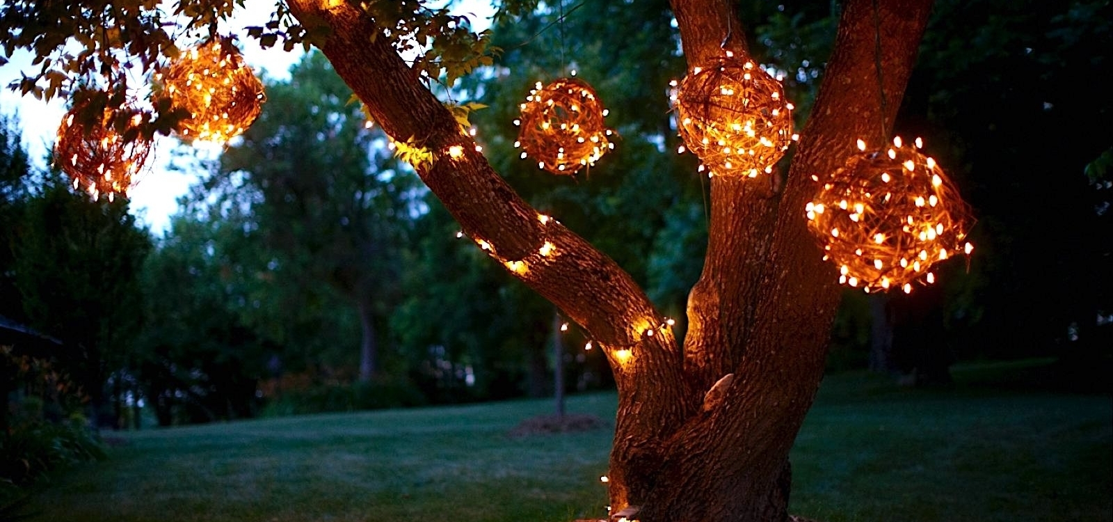 Inspiration about Diy Grapevine Lighting Balls What A Bright Idea ! Regarding Outdoor Hanging Grape Lights (#14 of 15)