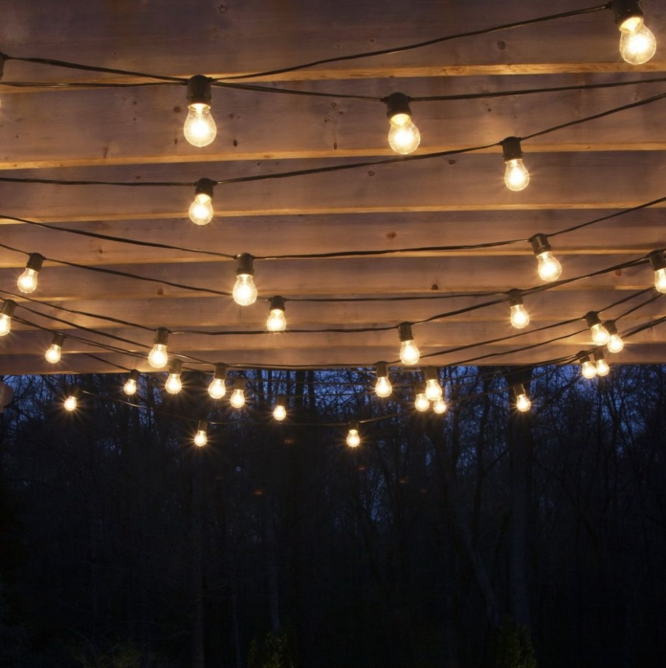 Inspiration about Diy : Hanging Outdoor Patio Lights Home Design Ideas String Solar Throughout Solar Hanging Outdoor Patio Lights (#14 of 15)