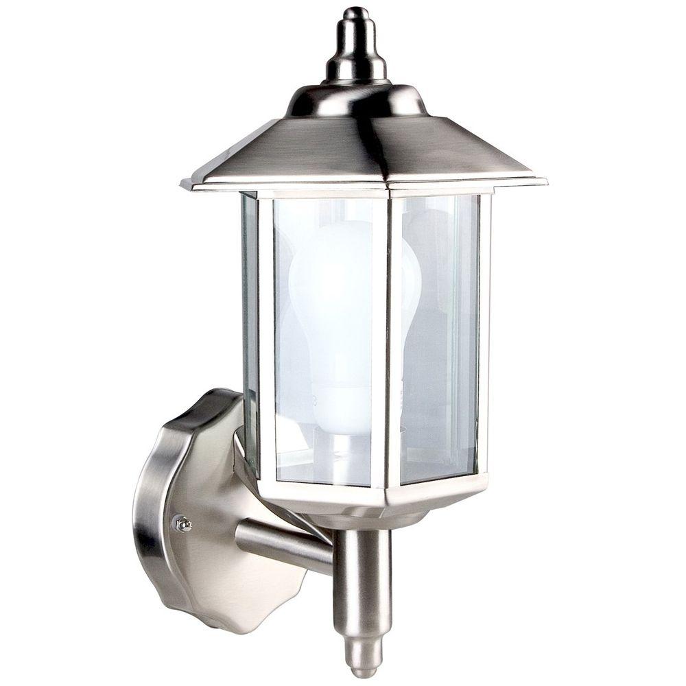 Inspiration about Diy : Outdoor Garden Light Bulbs Wall Lanterns Home Depot That Look Regarding Canadian Tire Outdoor Wall Lighting (#7 of 15)