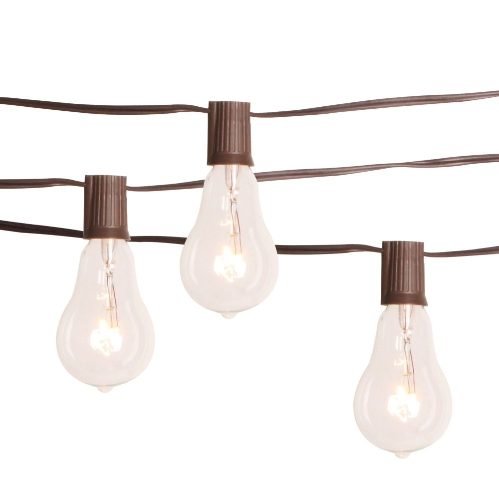 Inspiration about Diy : Outdoor String Lights Home Depot Canada Trend Battery Operated Pertaining To Hanging Outdoor String Lights At Home Depot (#9 of 15)