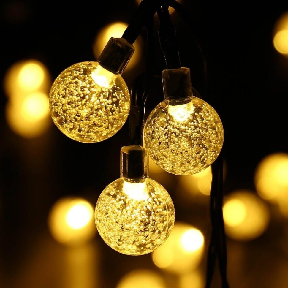 Inspiration about Diy : Outdoor String Lights Solar Appealing Hanging Light Balls With Regard To Outdoor Hanging Light Balls (#14 of 15)