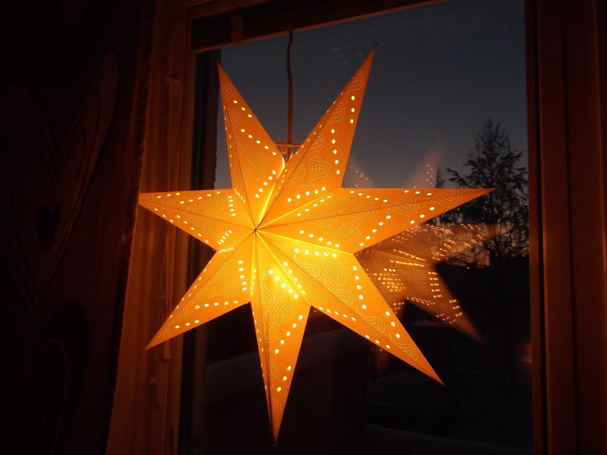 Diy Paper Star Lantern Pattern Inside Outdoor Hanging Star Lanterns (#3 of 15)