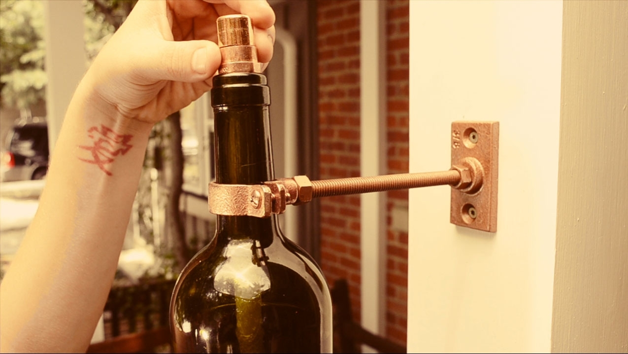 Inspiration about Diy Recycled Glass Bottle Outdoor Lighting – Buildipedia Inside Making Outdoor Hanging Lights From Wine Bottles (#14 of 15)