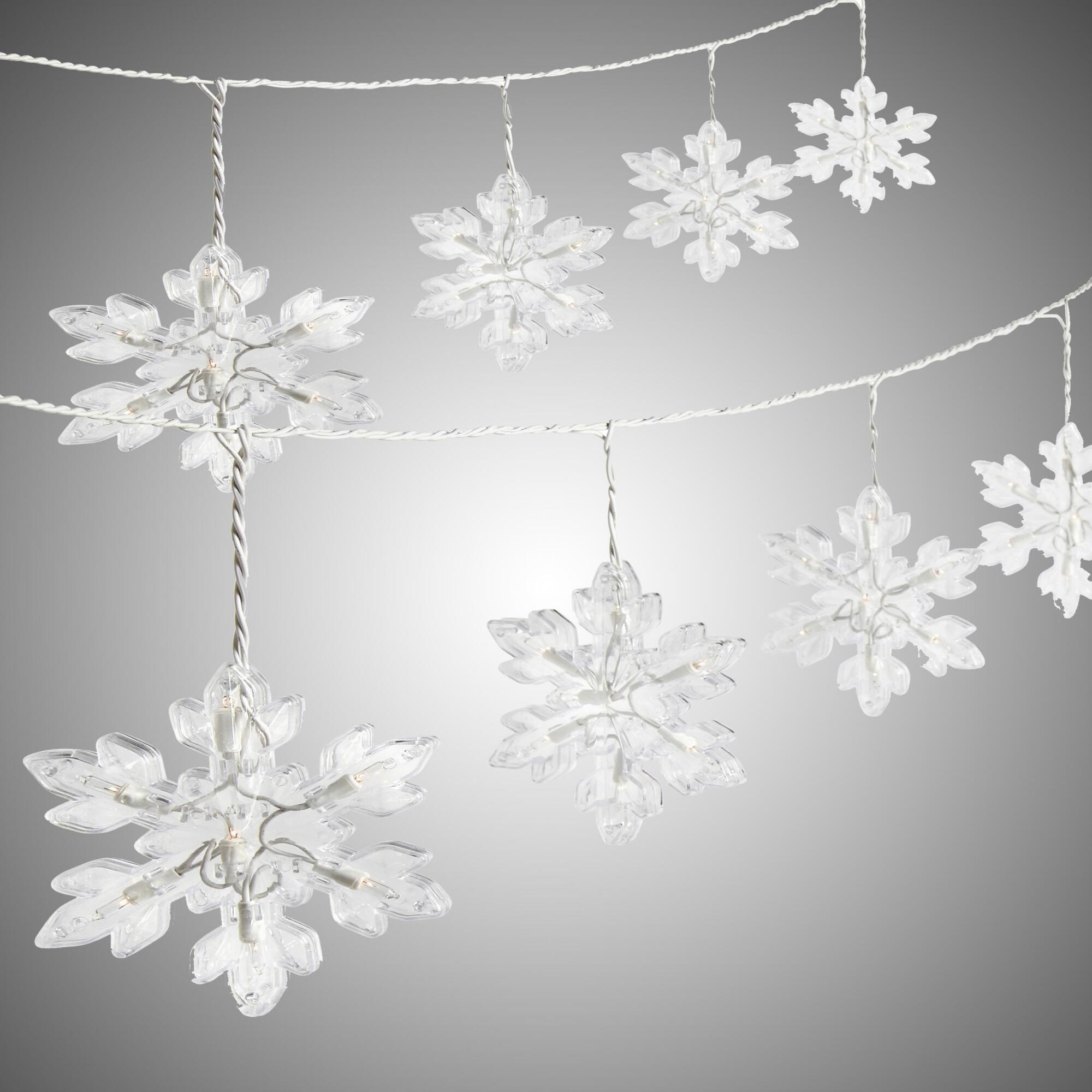 Inspiration about Diy : Snowflake String Lights Outdoor Lighting Design Ideas For Pertaining To Outdoor Hanging Snowflake Lights (#3 of 15)