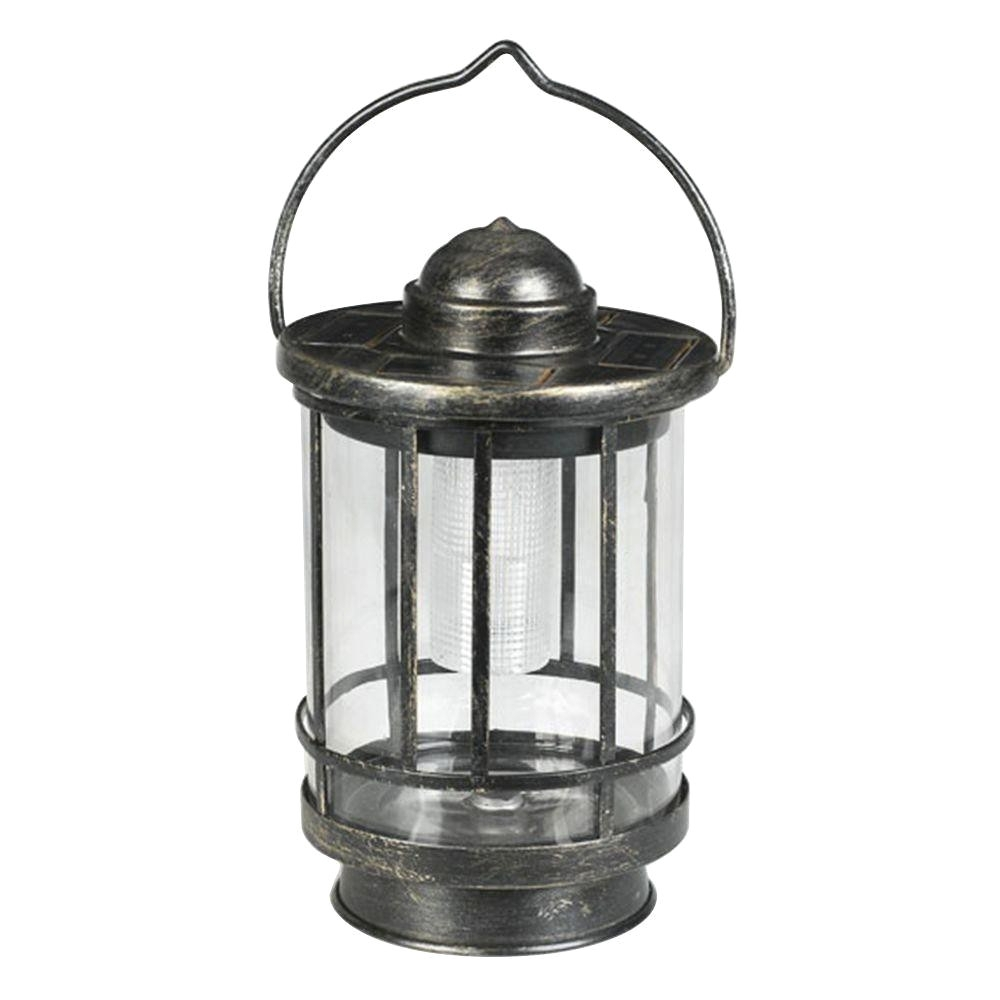 Inspiration about Duracell Solar Powered Outdoor Led Tabletop Lantern Mto012A R5 Aa With Rustic Outdoor Lighting At Home Depot (#14 of 15)
