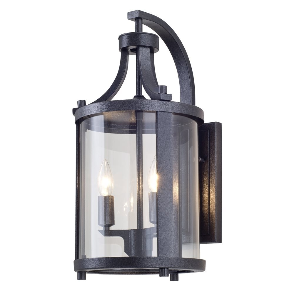Inspiration about Dvi Lighting Dvp4472Hb Cl Niagara Outdoor Wall Sconce, High End In High End Outdoor Wall Lighting (#1 of 15)