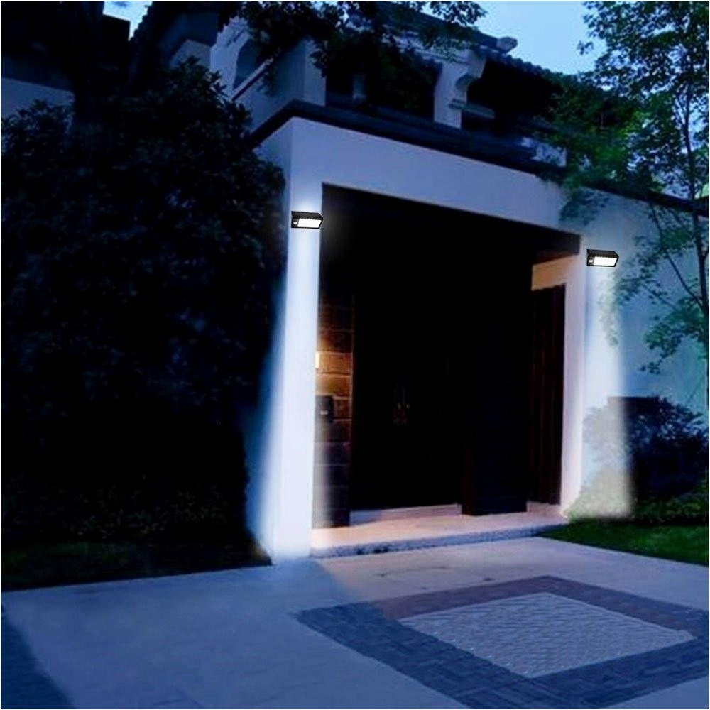 Ebay Outdoor Solar Wall Lights Archives – Best Outdoor Design Ideas Pertaining To Outdoor Solar Wall Lights (View 11 of 15)
