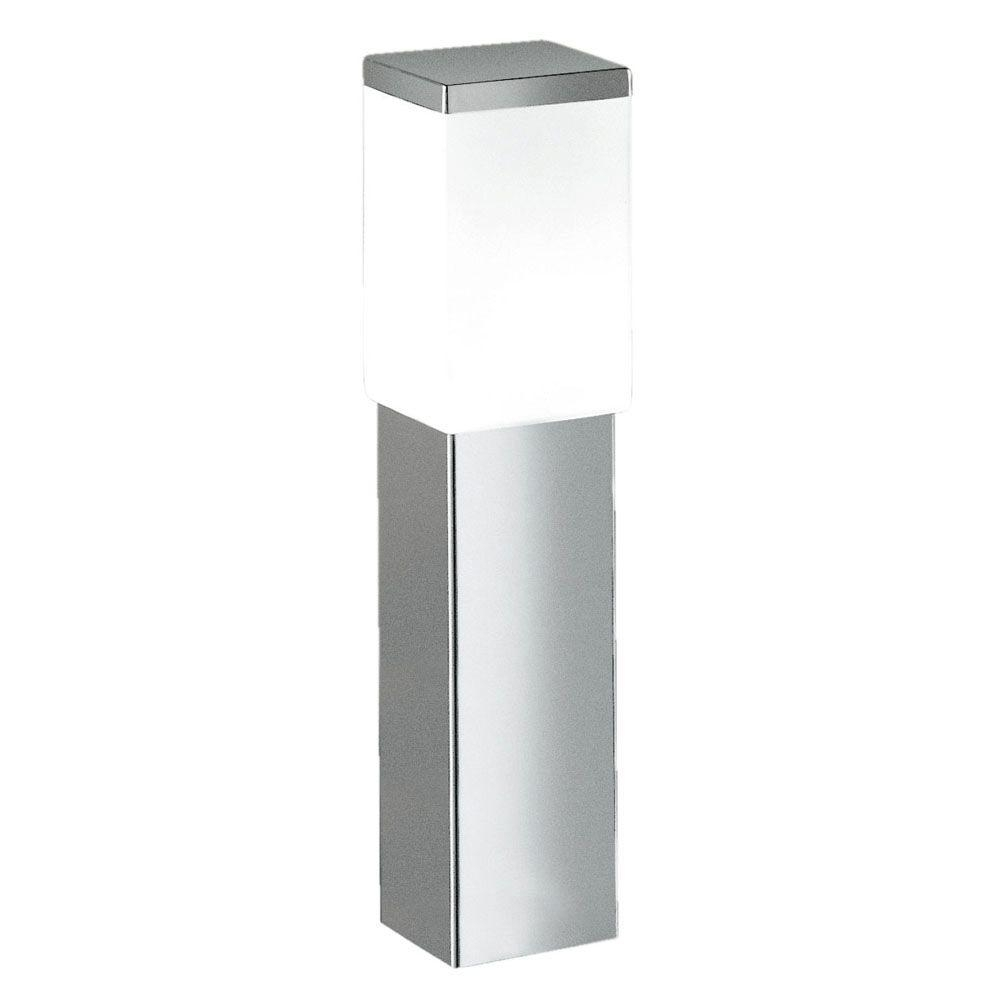 Eglo Calgary 1 Light Stainless Steel Outdoor Post Lamp 86388A – The With Eglo Outdoor Lighting (#7 of 15)