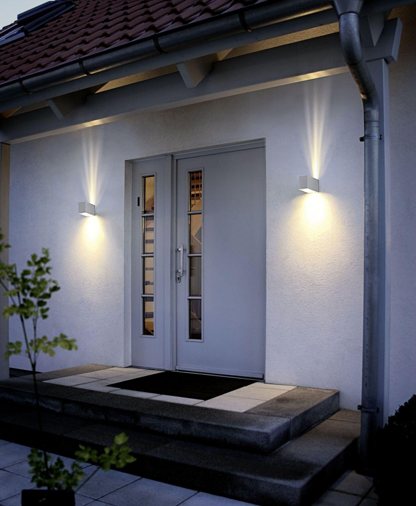 Eglo Outdoor Lighting / Wall Light / Tabo / Silver Finish | Jd ♥s Within Eglo Outdoor Lighting (View 3 of 15)