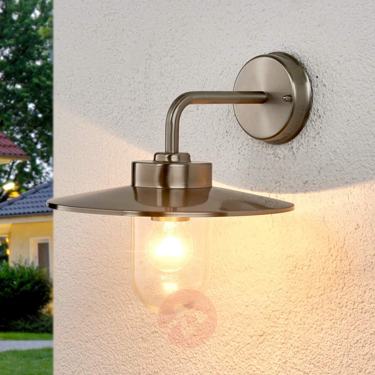 Elegant Outdoor Wall Lamp Joscha | Lights (#8 of 15)