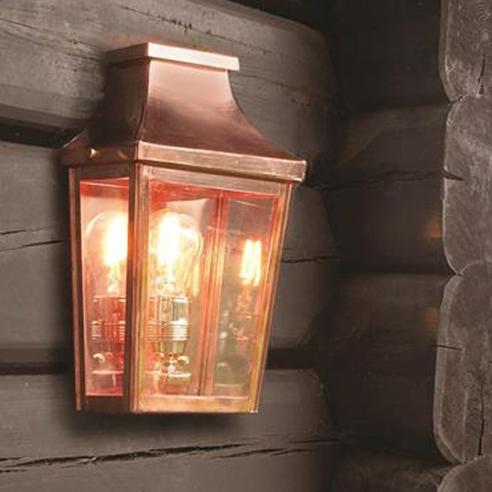 15 Best Of Copper Outdoor Wall Lighting