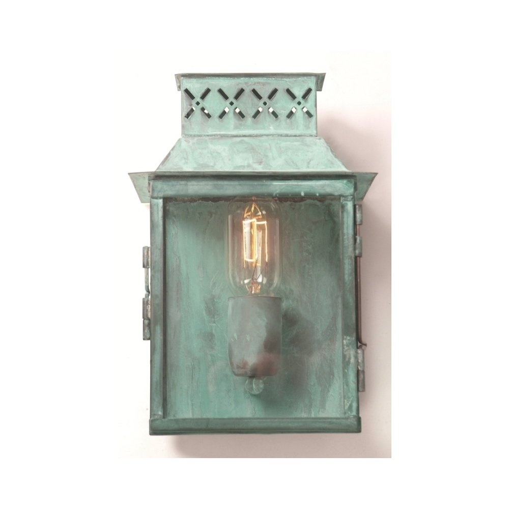 Elstead Lighting Lambeth Palace Outdoor Verdigris Wall Lantern Pertaining To Gothic Outdoor Wall Lighting (View 14 of 15)