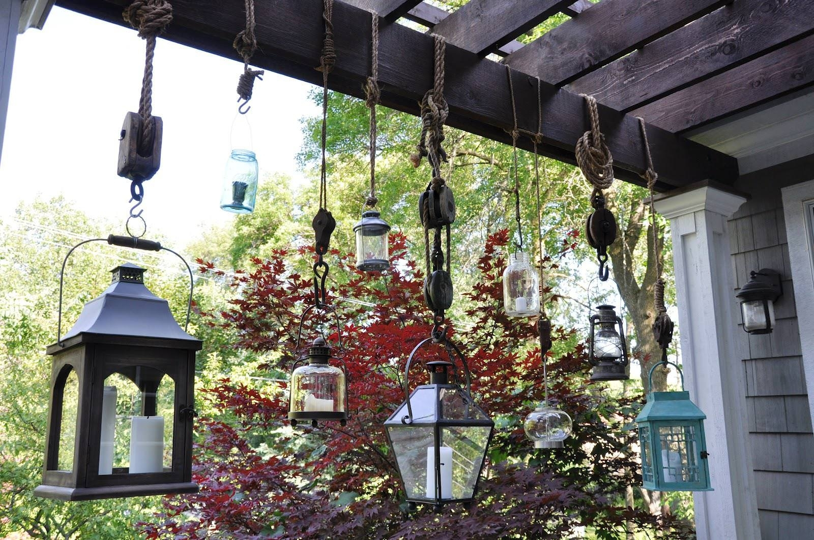 Emejing Hanging Lanterns Indoor Gallery – Decoration Design Ideas Throughout Outdoor Hanging Lanterns Candles (View 12 of 15)