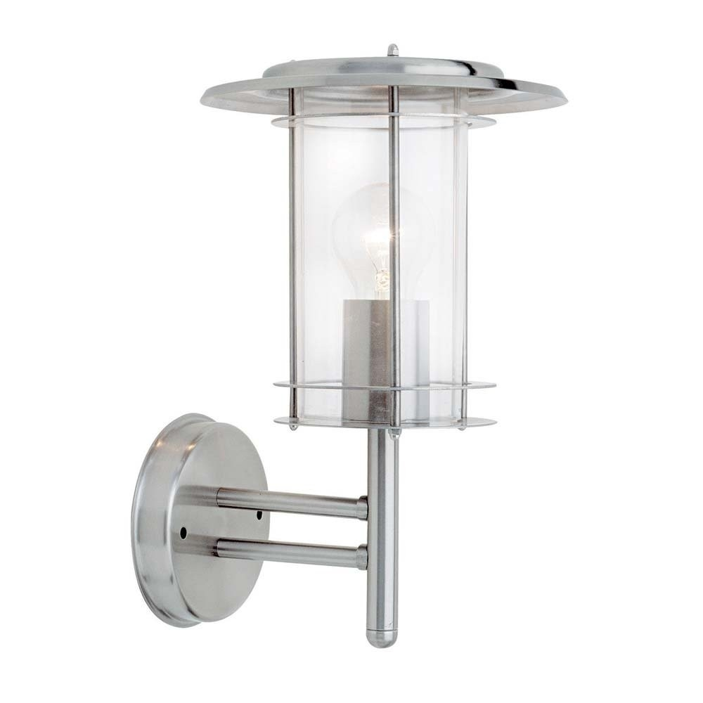 Endon 4478182 York Outdoor Wall Light Polished Stainless Steel Intended For Endon Lighting Outdoor Wall Lanterns (#1 of 15)