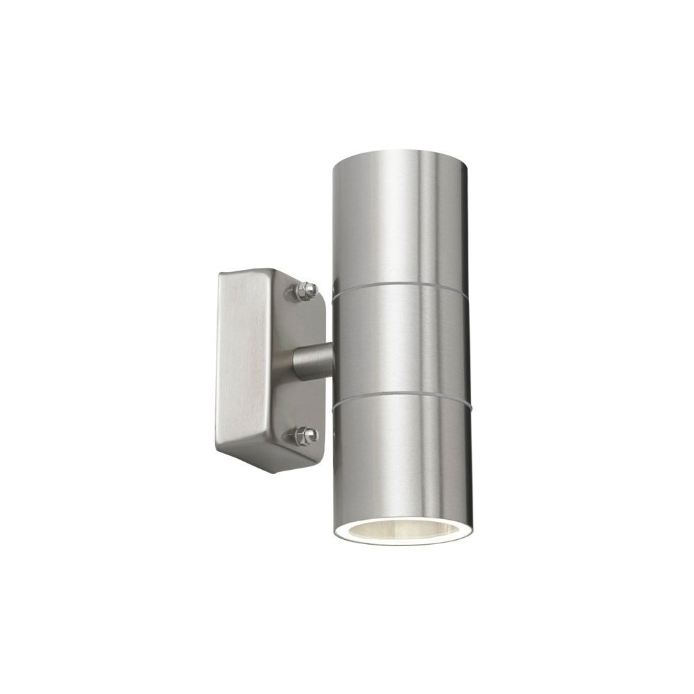 Endon Lighting Canon 2Light Outdoor Wall Light Ip44 35W – Polished With Regard To Endon Lighting Outdoor Wall Lanterns (#4 of 15)