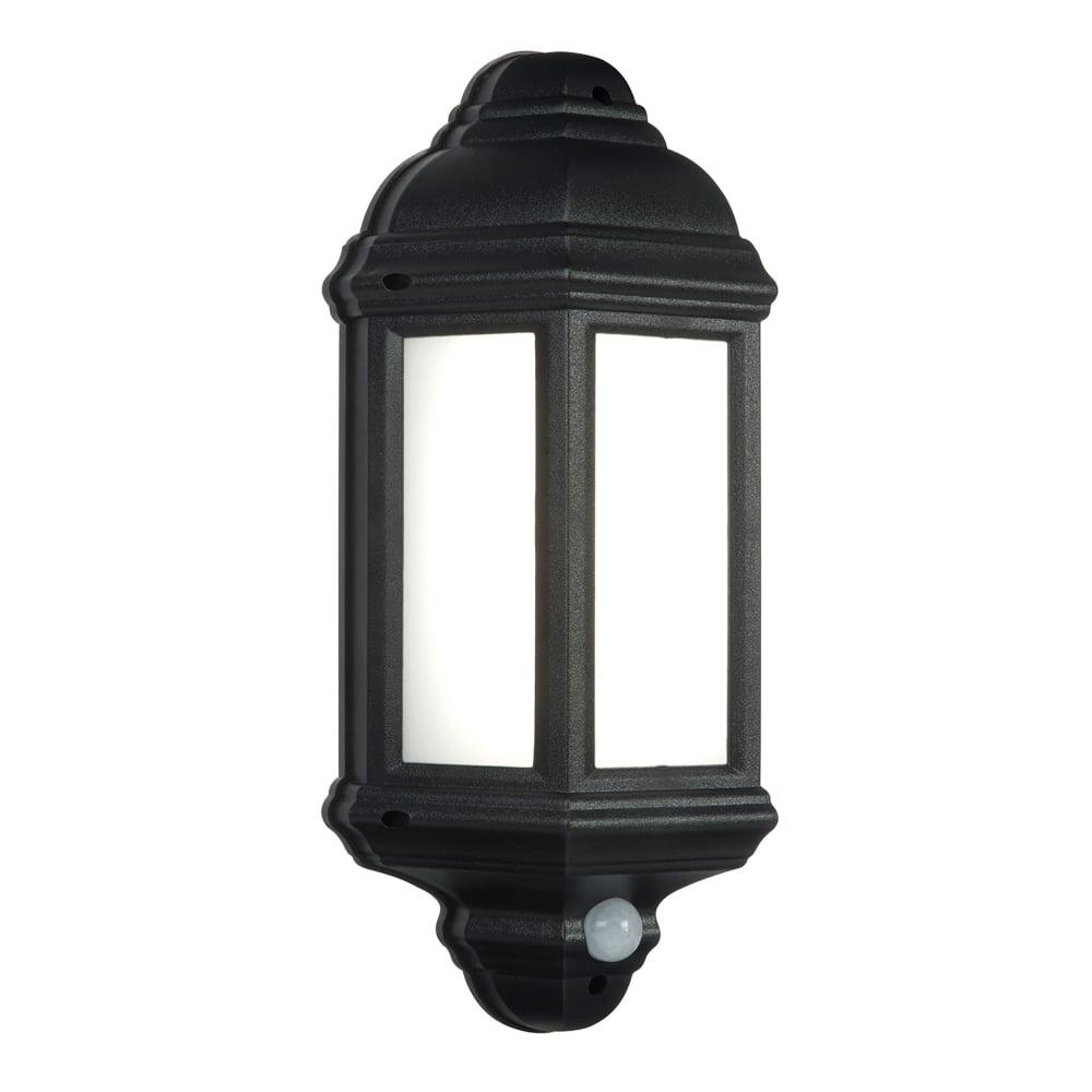 Endon Lighting Halbury Single Led Flush Outdoor Pir Wall Lantern In With Regard To Endon Lighting Outdoor Wall Lanterns (#5 of 15)