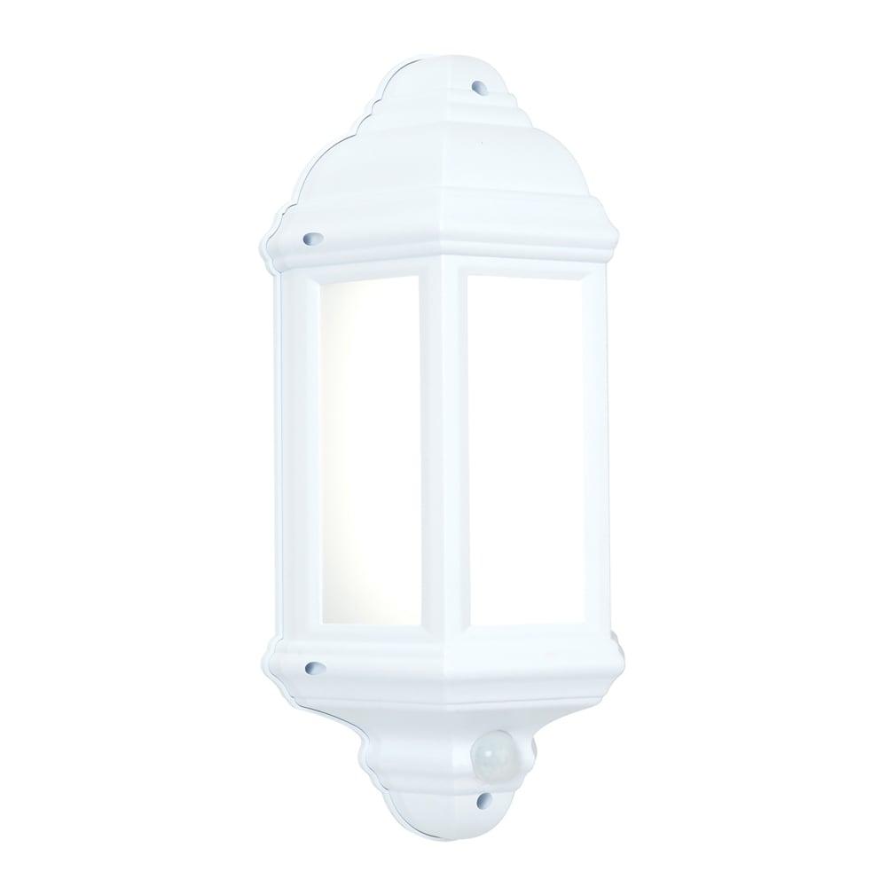 Endon Lighting Halbury Single Led Flush Outdoor Wall Lantern In Matt Regarding Endon Lighting Outdoor Wall Lanterns (#6 of 15)