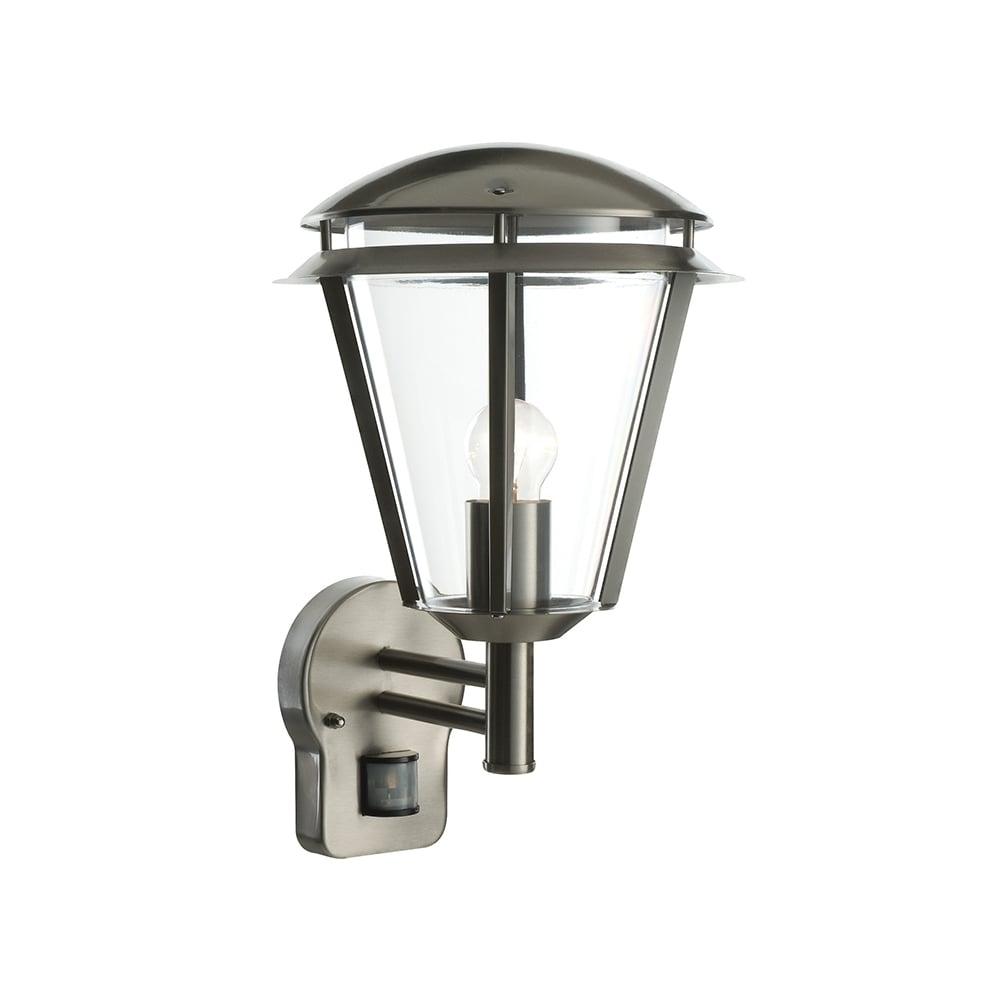 Endon Lighting Inova Pir 1 Light Outdoor Wall Light At Lovelights.co (#7 of 15)