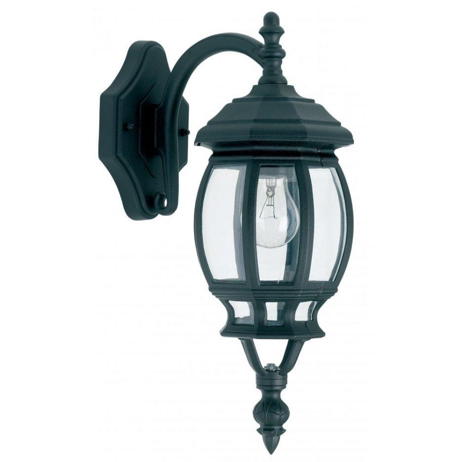 Endon Lighting Single Light Outdoor Downward Wall Lantern In A Matt In Endon Lighting Outdoor Wall Lanterns (#10 of 15)