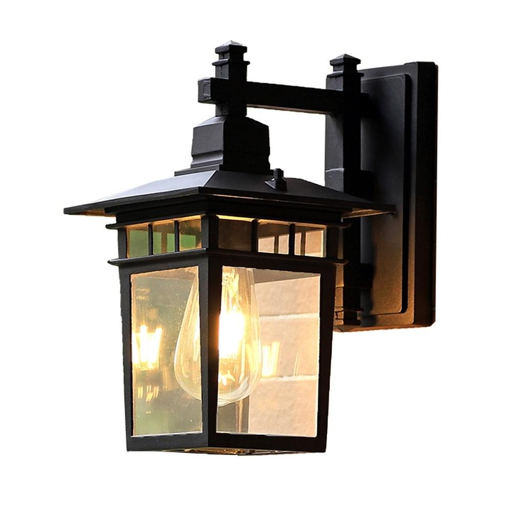 European Outdoor Wall Lamp Waterproof American Outdoor Villa In European Outdoor Wall Lighting (View 13 of 15)