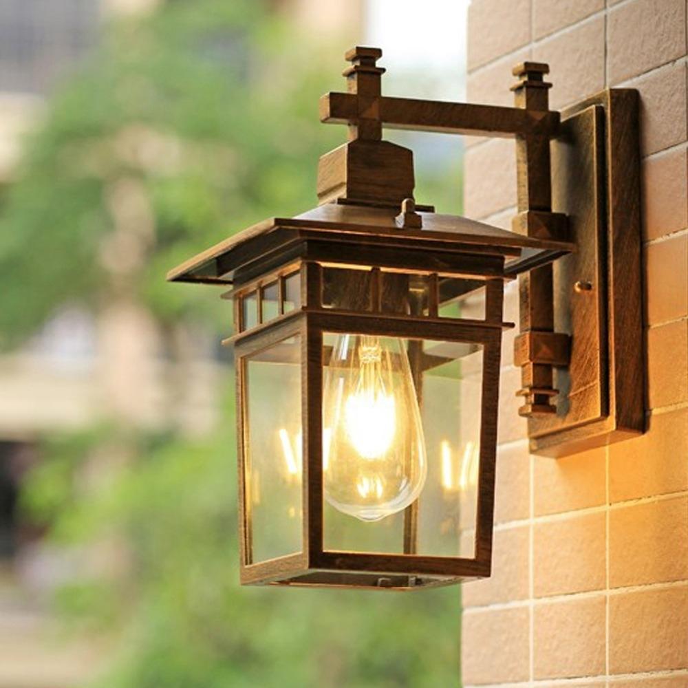 European Style Outdoor Wall Lamp Waterproof Special Outdoor Villa Regarding European Outdoor Wall Lighting (View 2 of 15)