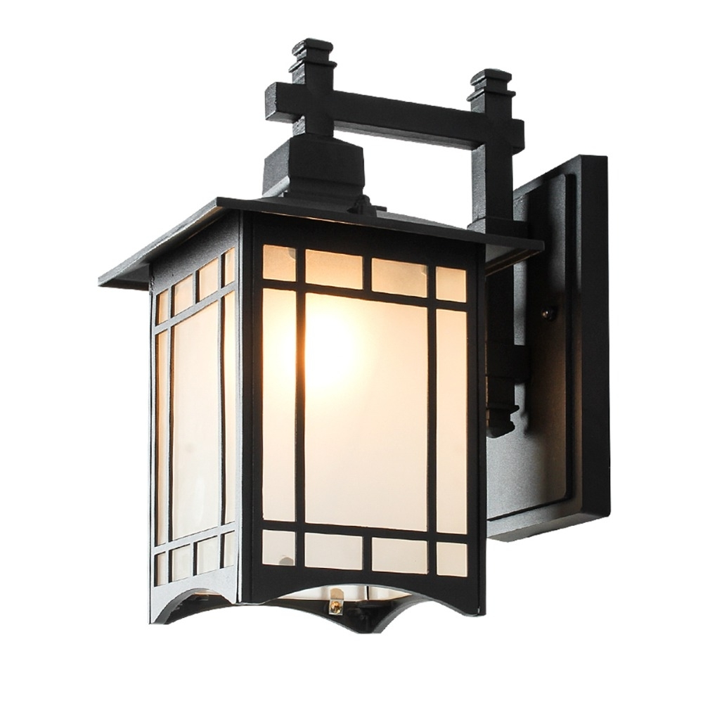 European Style Waterproof Retro Balcony Outdoor Wall Lamp Chinese With European Outdoor Wall Lighting (#11 of 15)