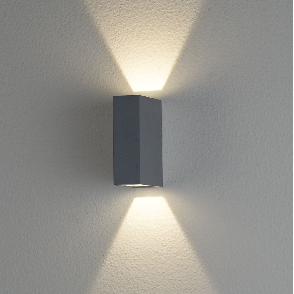 Ex2561 Led Exterior Up/down Wall Light – Clarence | Lighting Pertaining To Outdoor Up Down Wall Led Lights (#6 of 15)