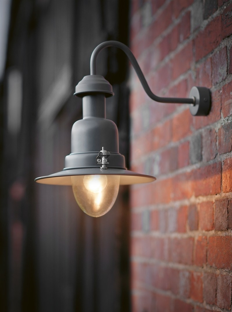 Exciting Lighting Outdoor Hanging Wall Attach Design Using Splendid Within Hanging Outdoor Lights On Brick (#6 of 15)