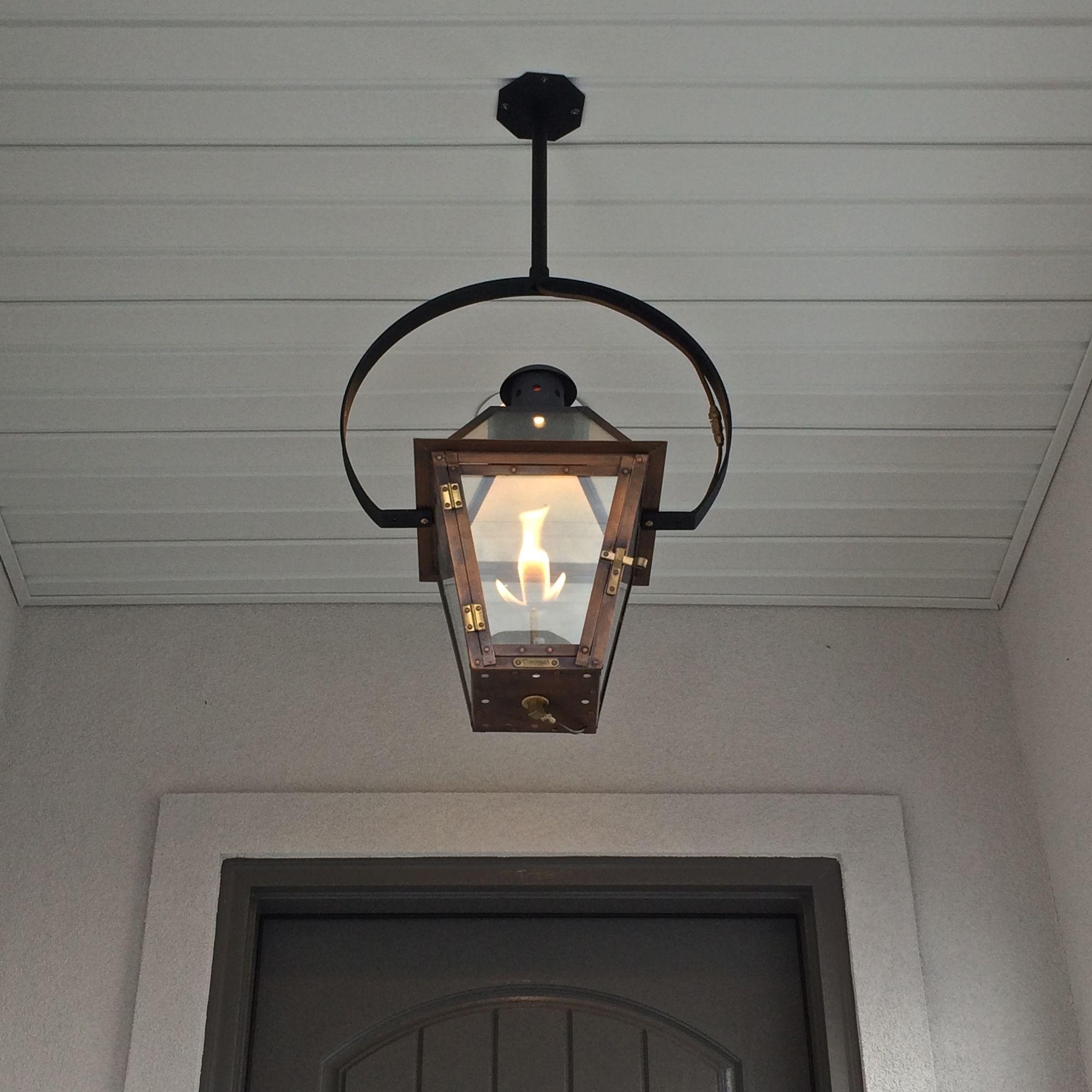 Popular Photo of Outdoor Hanging Gas Lanterns