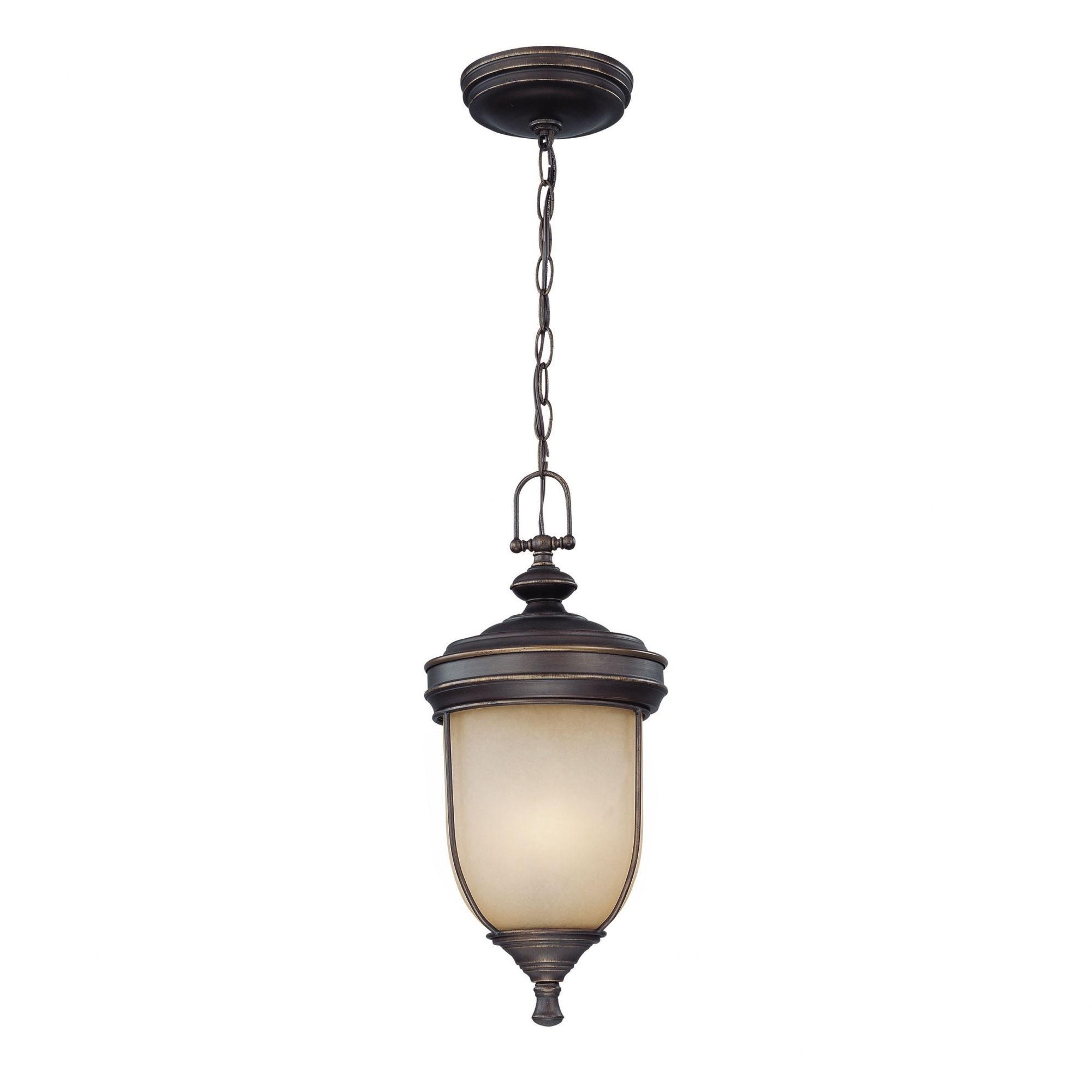 Popular Photo of Antique Outdoor Hanging Lights