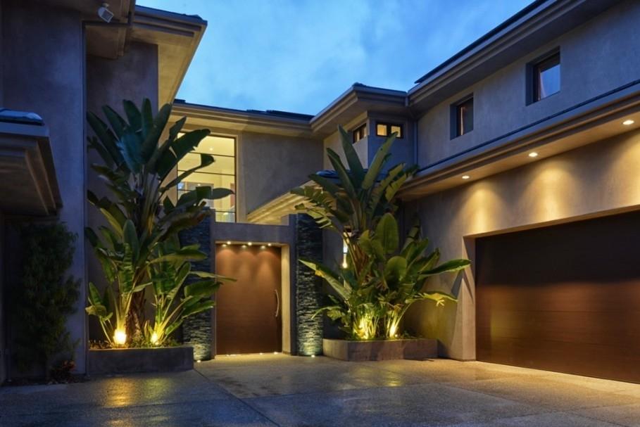 Exterior Modern Lighting Fixtures – Dayri In Modern Led Solar Garden Lighting Fixture (#8 of 15)