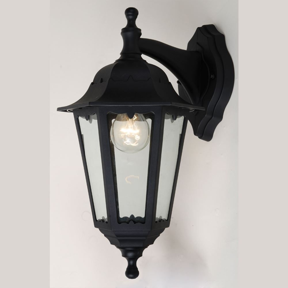 Exterior Plastic Outdoor Living Area Convertible Wall Lantern E27 In Plastic Outdoor Wall Light Fixtures (#4 of 15)