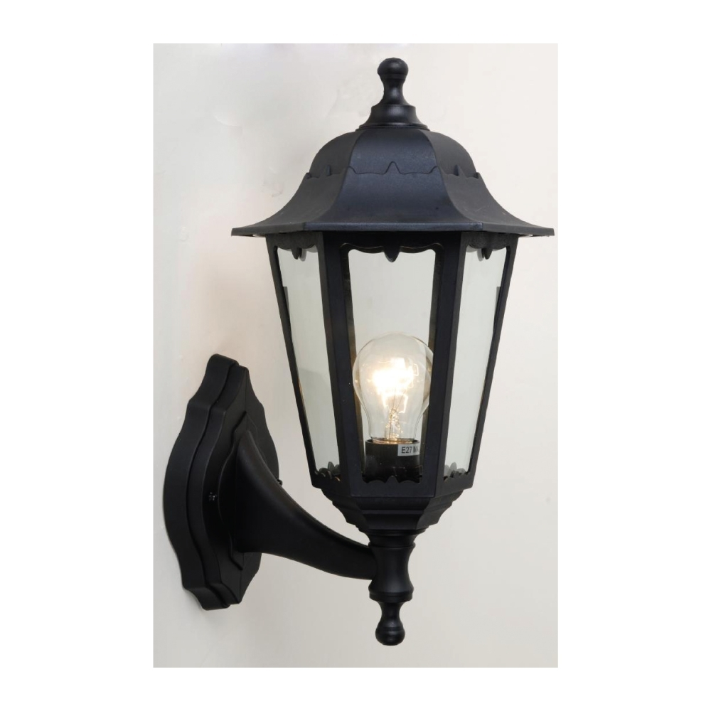 Exterior Plastic Outdoor Living Area Convertible Wall Lantern E27 Intended For Plastic Outdoor Wall Light Fixtures (#5 of 15)