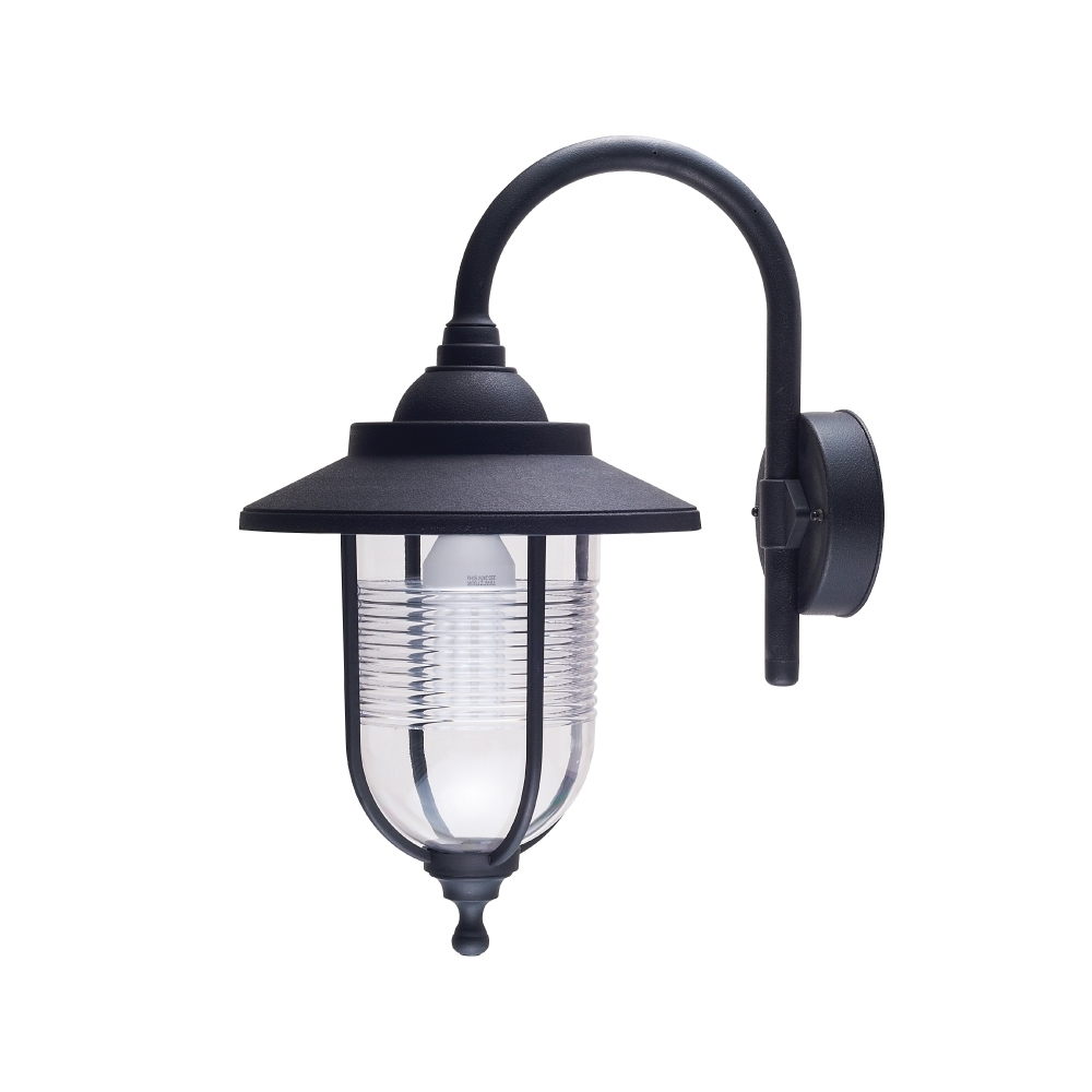 Exterior Plastic Outdoor Living Area Wall Lantern E27 Ip54 With Plastic Outdoor Ceiling Lights (#5 of 15)
