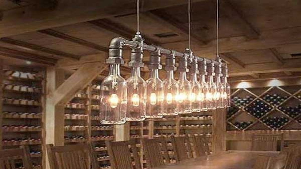 Fabulous Light Fixture Ideas Diy Outdoor Lights Homemade Light Within Diy Outdoor Ceiling Lights (#12 of 15)