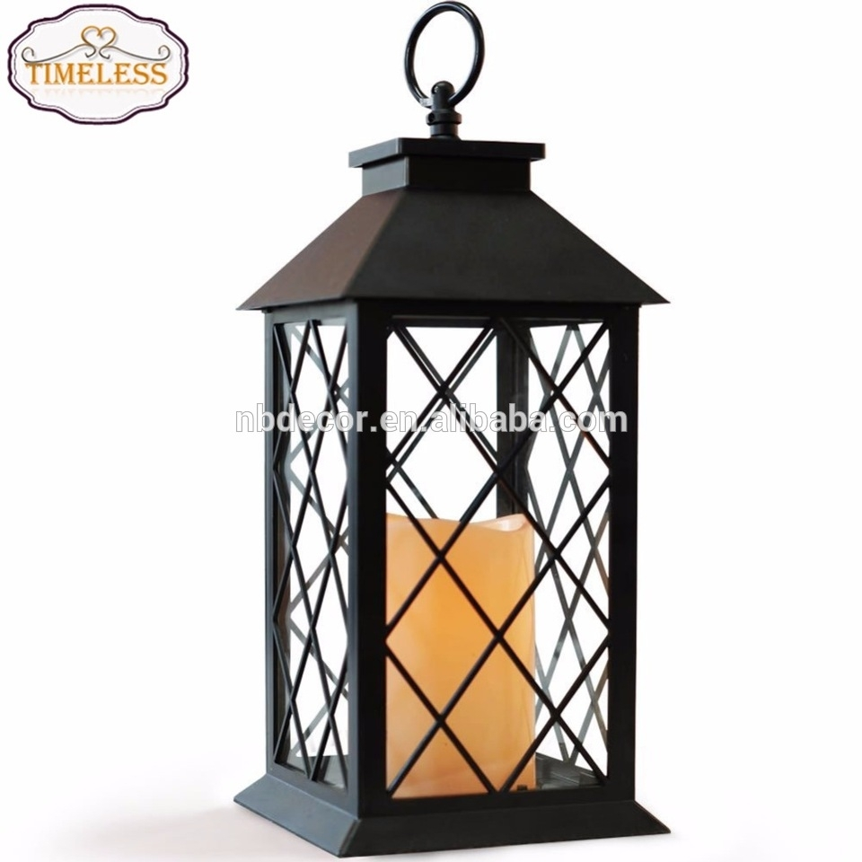 Factory Professional Metal Indoor Outdoor Hanging Decorative Candle Intended For Outdoor Hanging Lanterns Candles (View 8 of 15)