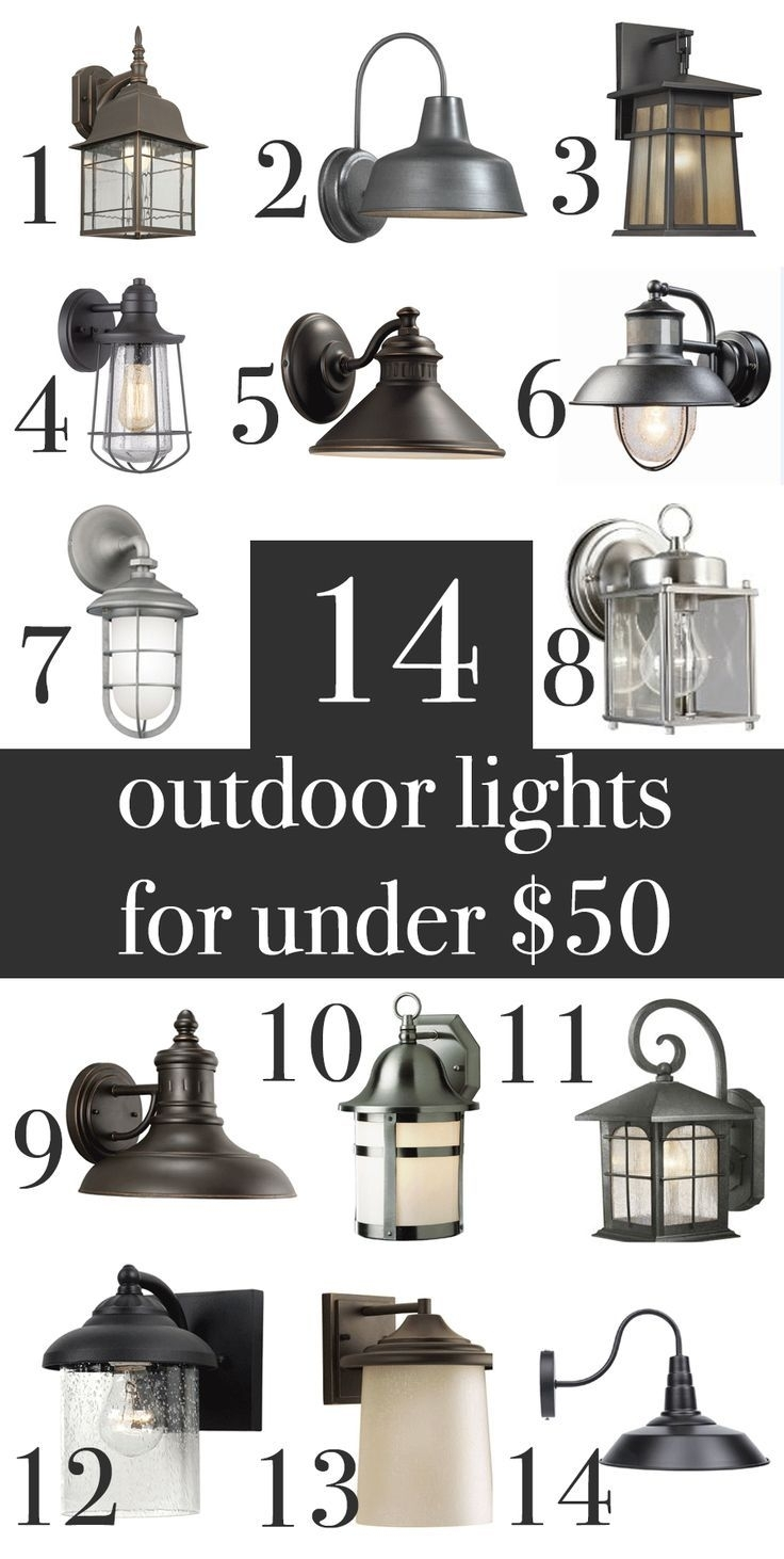 Farmhouse, Industrial, Craftsman, Rustic Outdoor Wall Lights Under Throughout Farmhouse Outdoor Wall Lighting (#5 of 15)
