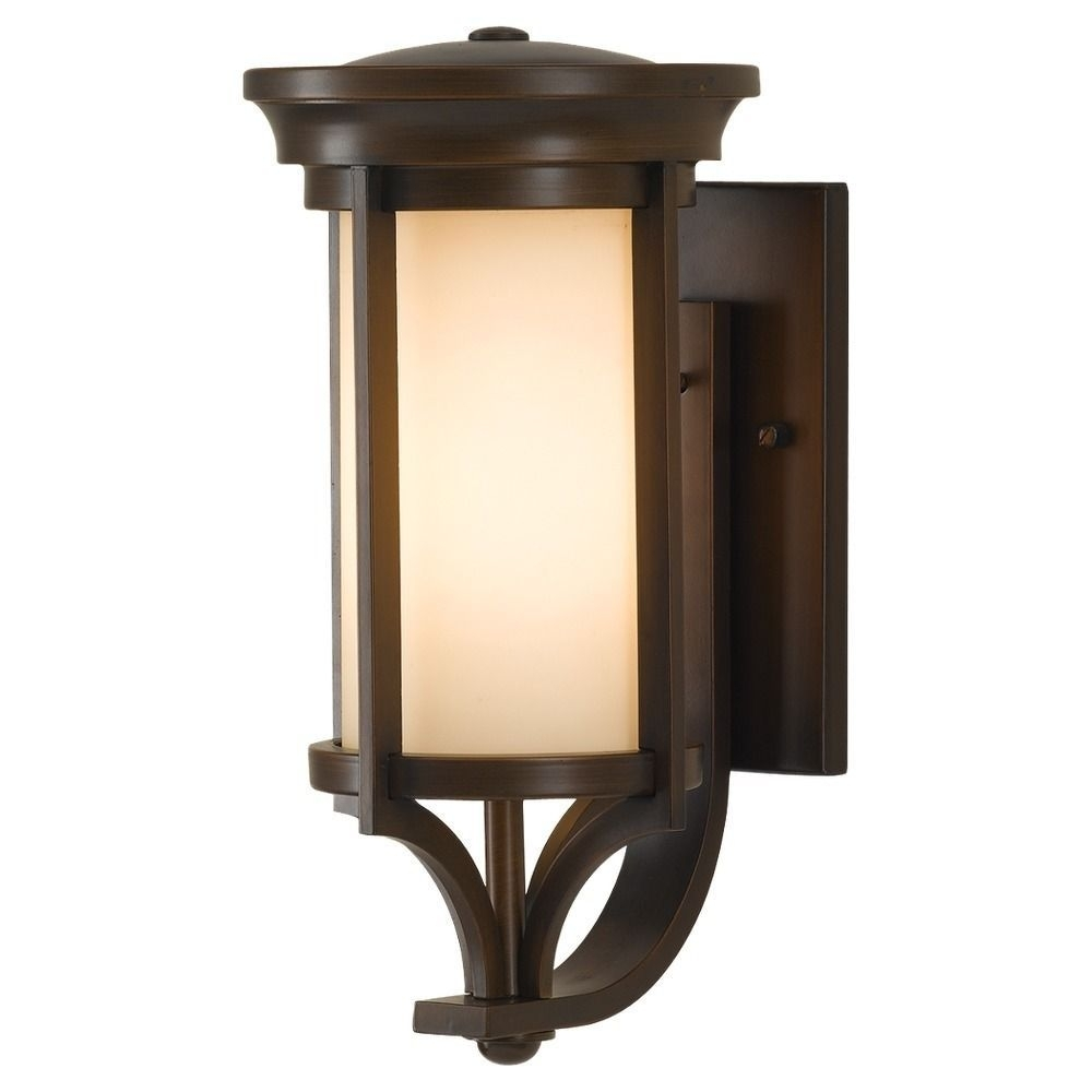 Feiss 1 – Light Wall Lantern, Heritage Bronze (1 Light Whitaker Wall In Outdoor Wall Garage Lights (#6 of 15)
